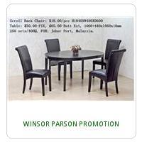 WINSOR PARSON PROMOTION